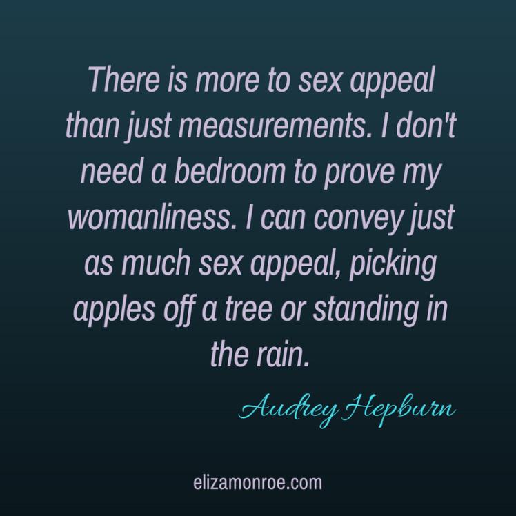 Audrey Hepburn Quote elizamonroe.com